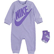 Nike Infant Dot Coveralls and Socks Set