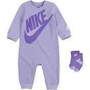 Nike Infant Dot Coveralls and Socks Set
