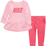 Nike Toddler Girls' Dot Tunic and Leggings Set