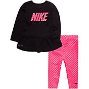 Nike Toddler Girls' Dot Tunic and Leggings Set