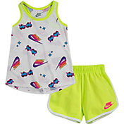 Nike Girls' Printed Tank Top and Shorts 2-Piece Set