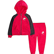 Nike Infant Girls' Gym Vintage Full Zip Hoodie and Pants Set
