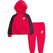 Nike Infant Girls' Gym Vintage Full Zip Hoodie and Pants Set