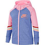 Nike Girls' Sportswear Heritage Full Zip Hoodie