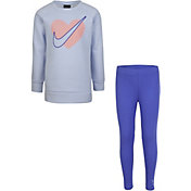 Nike Girls' Heart Tunic and Leggings Set