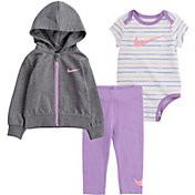 Nike Toddler Girls' JDI Stripe 3 Piece Leggings Set