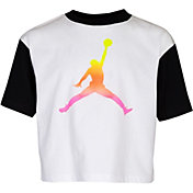 Jordan Girls' Jumpman Air Rise Boxy Short Sleeve T-Shirt