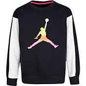 Jordan Girls' Jumpman Air Rise Crew Sweatshirt
