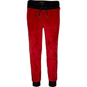 Jordan Girls' High Waisted Velour Pants
