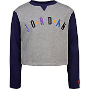 Jordan Girls' Varsity Luxe Long Sleeve Ringer T-Shirt