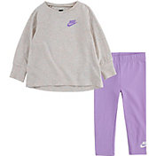 Nike Toddler Girls' Jersey Essentials Tunic and Leggings Set