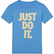 Nike Girls' Sportswear Just Do It Graphic T-Shirt