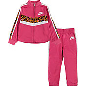 Nike Little Girls' Leopard Tracksuit 2-Piece Set