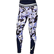 Nike One Girls' Printed Training Tights