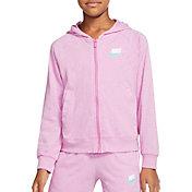Nike Girls' Sportswear Full Zip Hoodie