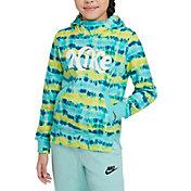 Nike Girls' Sportswear Tie-Dye Hoodie