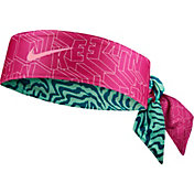 Nike Girls' Printed Reversible Head Tie