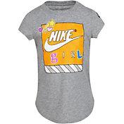 Nike Little Girls' Air Shoe Box Graphic T-Shirt