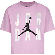 Jordan Girls' Graphic Short Sleeve T-Shirt