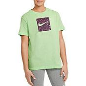 Nike Girls' Swooshfetti Box Graphic T-Shirt