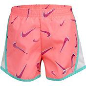 Nike Little Girls' Swooshfetti Tempo Shorts