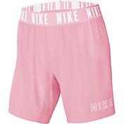 "Nike Girls' Dri-FIT Trophy 6"" Training Shorts"