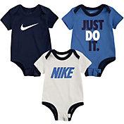 Nike Infant JDI Swoosh Bodysuit Set - 3 Pack