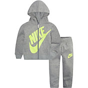 Nike Infant Boys' Sueded Fleece Zip Hoodie and Joggers Set