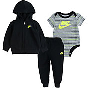 Nike Infant Boys' Stripe 3 Piece Leggings Set
