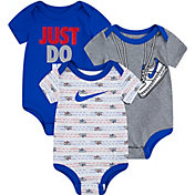 Nike Infant Boys' Short Sleeve Bodysuit 3 Pack