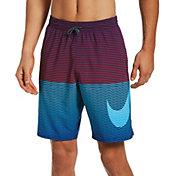 "Nike Men's Horizon Stripe Vital 9"" Volley Swim Trunks"