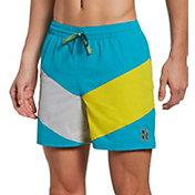 "Nike Men's Multi Logo Vortex 5"" Volley Swim Trunks"