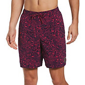 "Nike Men's Shark Lap 7"" Volley Swim Trunks"