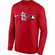 Nike Men's St. Louis Cardinals Red Authentic Collection Legend Long Sleeve T-Shirt