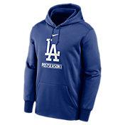 Nike Men's 2020 Postseason Los Angeles Dodgers Pullover Hoodie