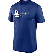 Nike Men's 2020 World Series Authentic Collection Los Angeles Dodgers Royal Legend T-Shirt