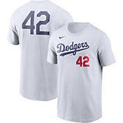 Nike Men's Los Angeles Dodgers Jackie Robinson #42 White T-Shirt