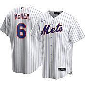 Nike Men's New York Mets Jeff McNeil #6 White Cool Base Replica Jersey
