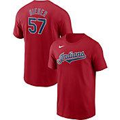 Nike Men's Cleveland Indians Shane Bieber #57 T-Shirt