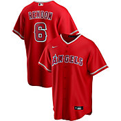 Nike Men's Replica Los Angeles Angels Anthony Rendon #6 Cool Base Red Jersey