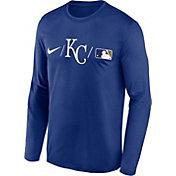 Nike Men's Kansas City Royals Blue Authentic Collection Legend Long Sleeve T-Shirt