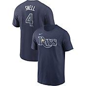 Nike Men's Tampa Bay Rays Blake Snell #4 Navy T-Shirt