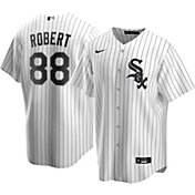 Nike Men's Replica Chicago White Sox Luis Robert #88 Cool Base White Jersey