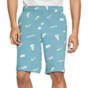 Nike Men's Sportswear Club Printed Shorts