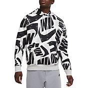 Nike Men's Sportswear Allover Print Futura Club Pullover Hoodie