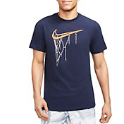 Nike Men's Swoosh Chain Net Short Sleeve T-Shirt
