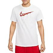 Nike Men's Swoosh Chain Net Short Sleeve T-Shirt