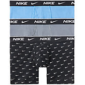 Nike Men's Everyday Cotton Stretch Boxer Briefs – 3 Pack