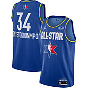 Jordan Men's 2020 NBA All-Star Game Giannis Antetokounmpo Blue Dri-FIT Swingman Jersey