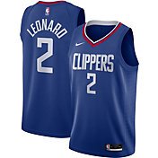 Nike Men's Los Angeles Clippers Kawhi Leonard #2 Blue Icon Jersey